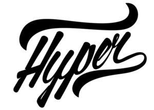 Hyper logo black