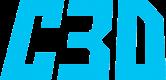 Trans C3D Text Logo